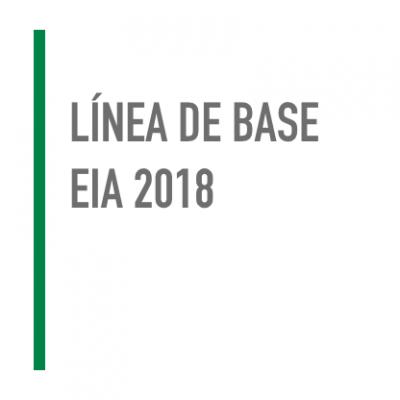 Línea de Base EIA 2018