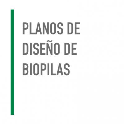 Plano de diseño de Biopilas