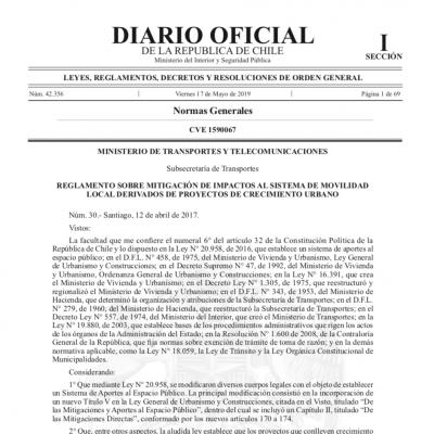 Urbano Reglamento IMIV